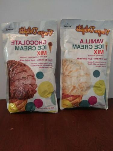 2 pack frozen delights ice cream mix