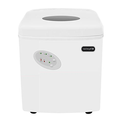 Whynter IMC-330WS Portable 33 lb Capacity-White Ice Makers,