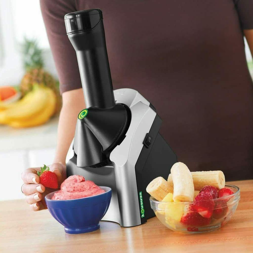 Yonanas Dessert Fruit Soft Maker Creates Fast