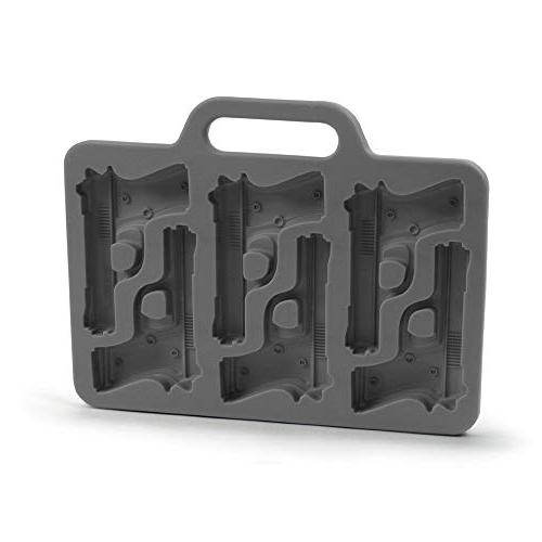 cube mould stylish gun shaped