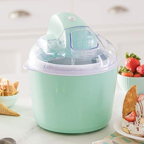 DASH Ice Cream Yogurt Sorbet Maker with Easy Ingredient Freezer & Recipes, 1