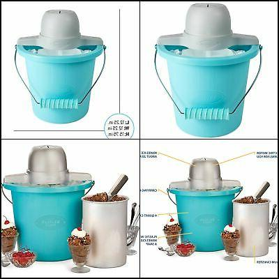 electric ice cream kit maker with easy
