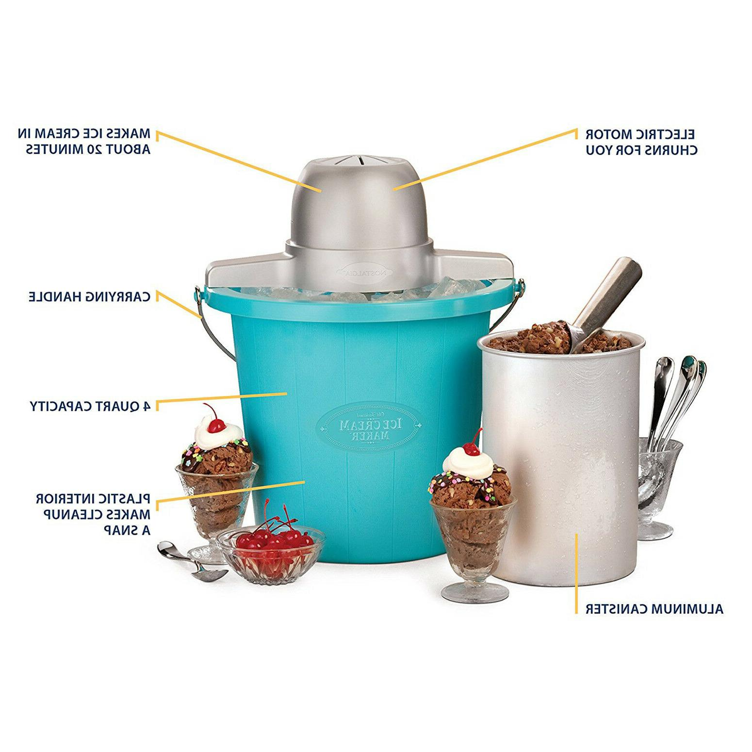 Electric Ice 4-Quart Made Frozen Yogurt