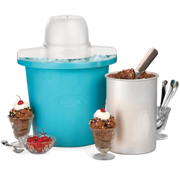 electric ice cream maker home made frozen