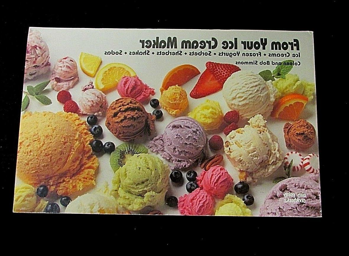 from your ice cream maker cookbook sorbets