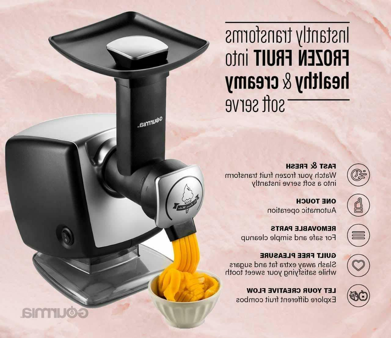 Automatic Healthy Frozen Maker, Makes Sorbet, Sherbet
