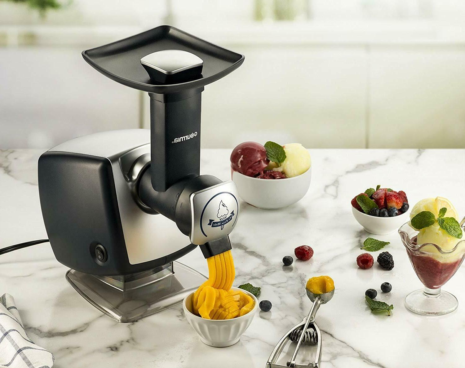 Automatic Healthy Frozen Dessert Maker, Sherbet