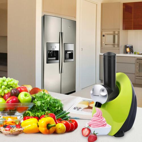 Electric Ice Maker Freezer Made Frozen Smoothie