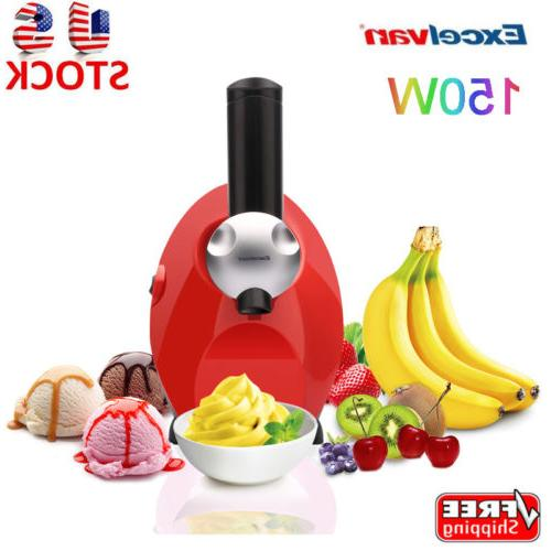 150W Mini Frozen Fruit Dessert Ice Cream Maker Yogurt Blende