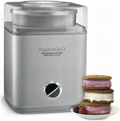 frozen yogurt sorbet and ice cream maker