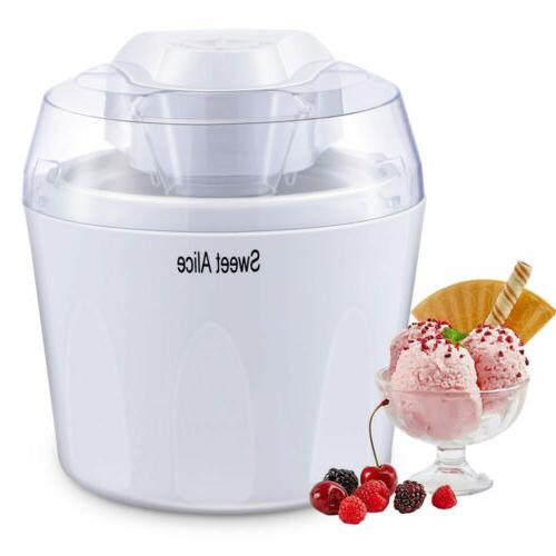 Electric Bucket Freezer Frozen Yogurt Machine 1.5L
