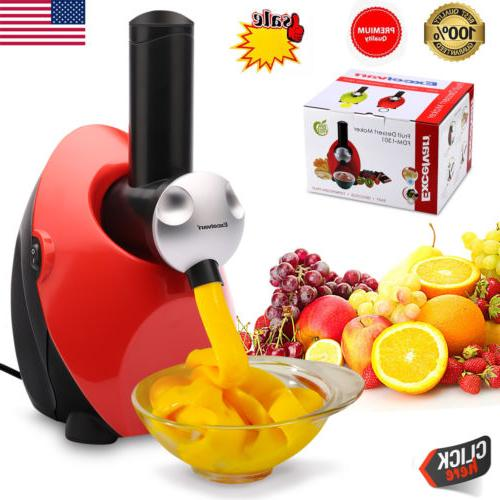 ice cream maker frozen healthy fruit yogurt