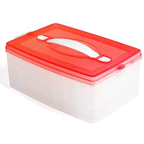 Ice 2 Cube Making Mold Function Tray Reusable For Freezer Lids