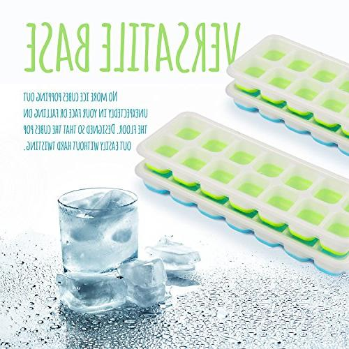 Happy To Go Ice Cube with Lids – of