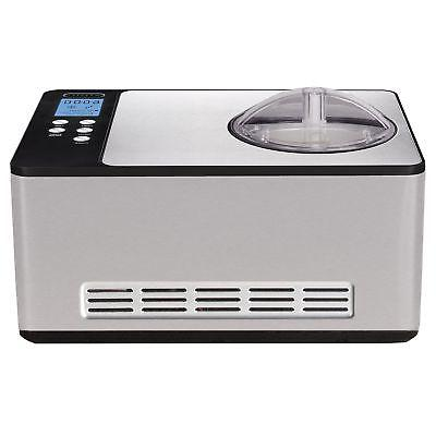 icm 200ls stainless steel ice cream maker