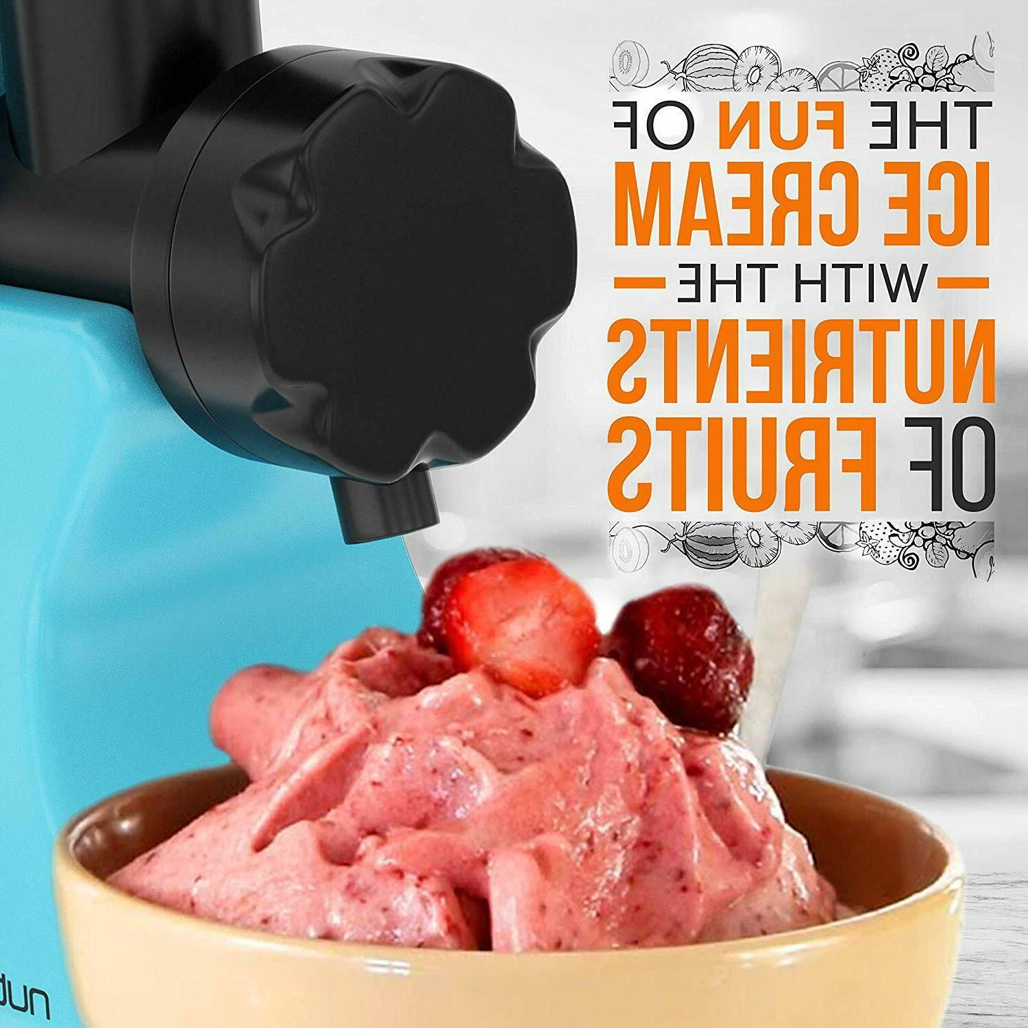Nutrichef Sorbet Machine