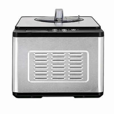*New* WHYNTER ICE CREAM MAKER Stainless Steel Electronic Timer
