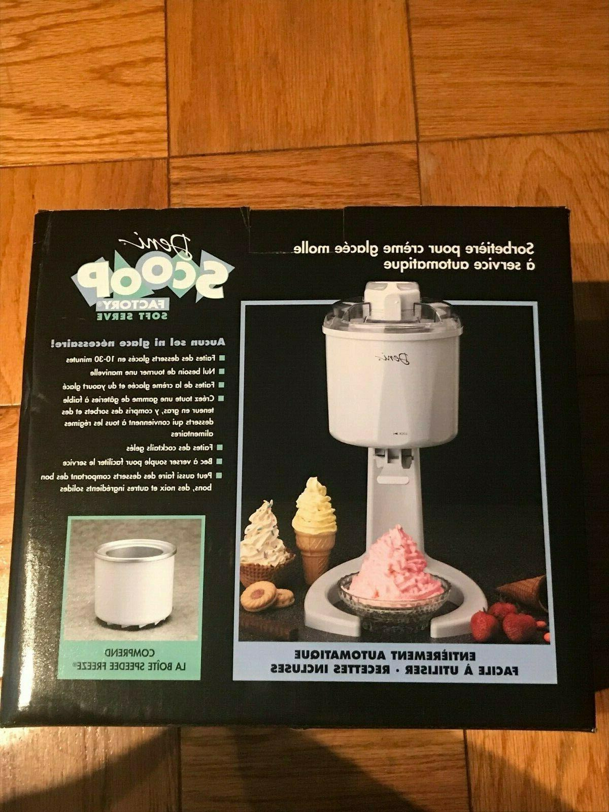 new scoop factory soft serve automatic ice
