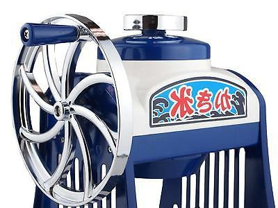 Shaved ice maker machine Hand-operated D-1400