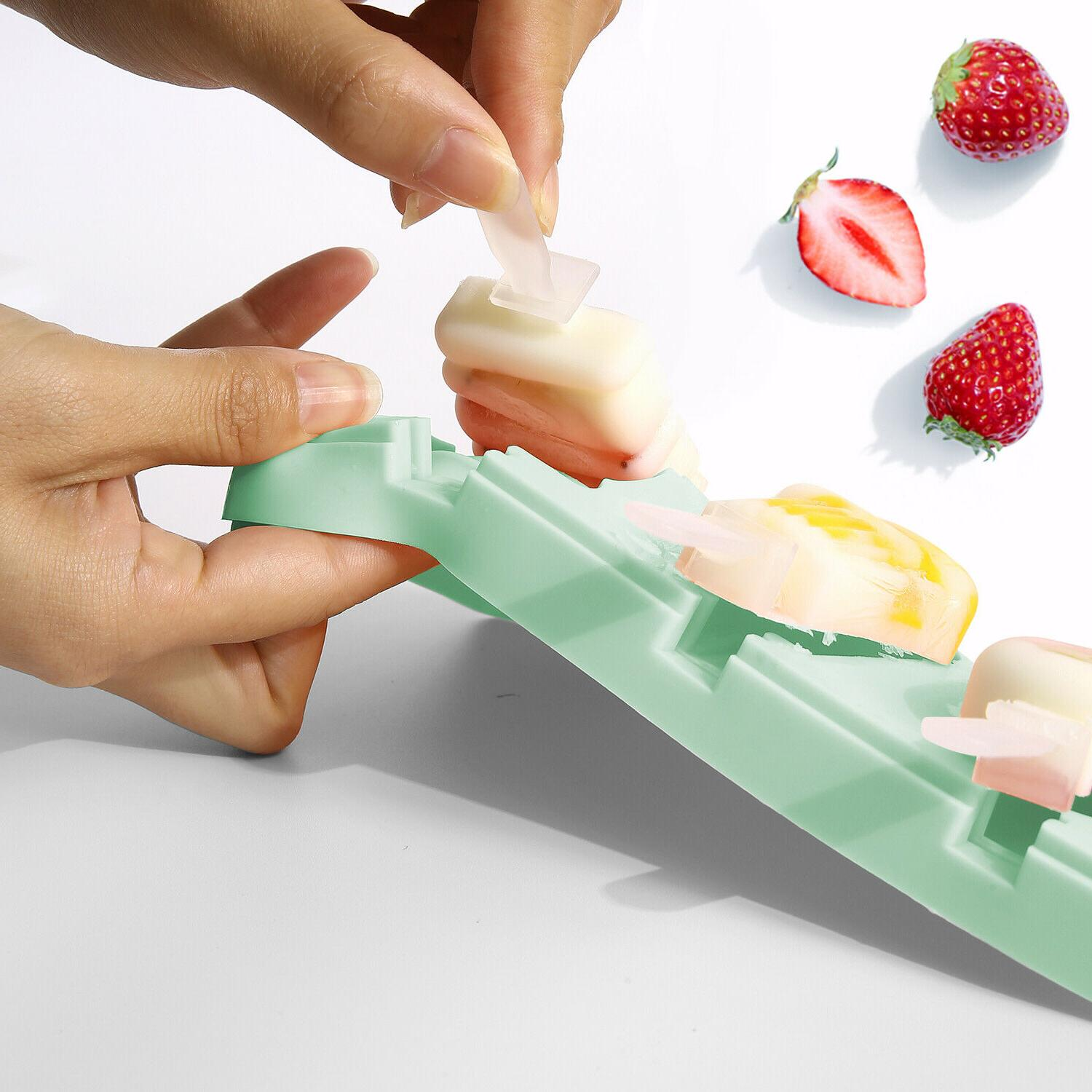 Silicone Ice with DIY Fruit Pop Popsicle Mould