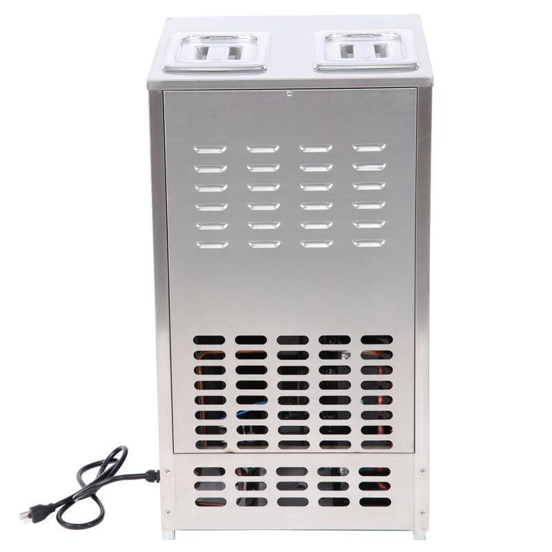 Soft Ice Cream Frozen Yogurt Machine 110V 18L/H