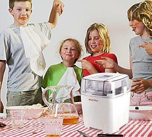 Soft Ice Machine Maker Electric Gelato Frozen Yogurt Maker