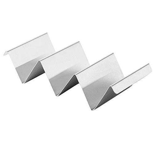 wave shape stainless steel taco