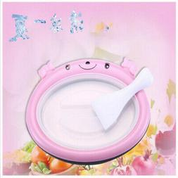 Mini Cartoon DIY Ice Cream Maker Fried Yogurt Machine Homema