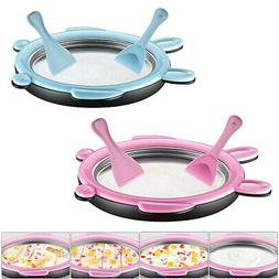 Mini Ice Cream Maker Fried Ice Machine Tray Home Ice Cream M