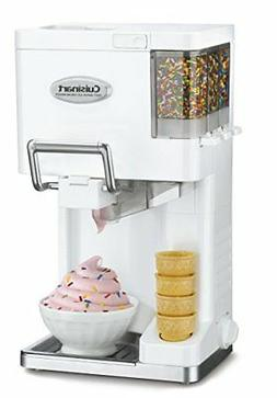 NEW Cuisinart ICE-45 Mix It In Soft Serve 1-1/2-Quart Ice Cr
