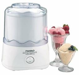 NEW! Cuisinart Automatic 1 1/2 Quart Ice Cream Maker, White