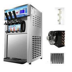 NEW SOFT SERVE COMMERCIAL ICE CREAM YOGURT MACHINE MAKER 3 F