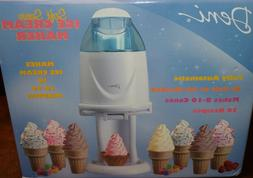 "NEW Deni ""SOFT SERVE ICE CREAM MAKER"" Yogurt Recipes FUN! FU"