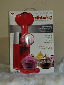 NEW Big Boss Swirlio Healthy Frozen Fruit Dessert Maker - Re