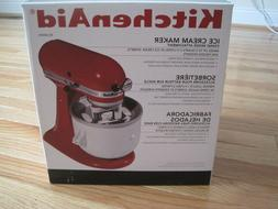 NEW UNUSED KitchenAid Stand Mixer Ice Cream Maker Attachment