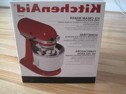 new unused stand mixer ice cream maker