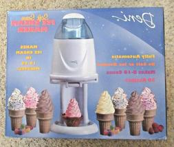 NIB Deni Fully Automatic Soft Serve Ice Cream Maker Sherbet