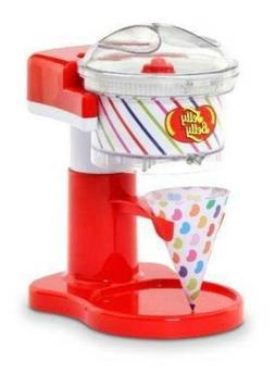 NIB-Jelly Belly Sno Motion Ice Shaver, 4 Snow Cone Cups & St