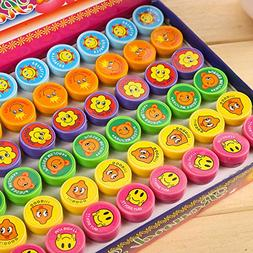 Party Favors - 60 Pcs Set Self Ink Stamps Kids Party Favors