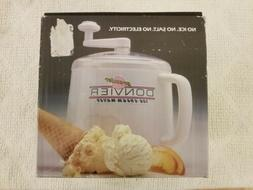 Donvier Pint Size Ice Cream Maker