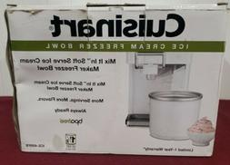 Cuisinart 1.5Qt. Replacement Freezer Bowl for Use with ICE-4