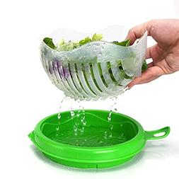 Salad Cutter Bowl - Green Salad Maker Upgraded by MaximumBal