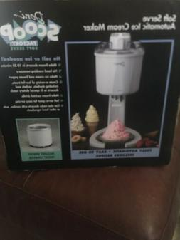 Deni Scoop Factory Automatic Soft Serve Ice Cream Maker