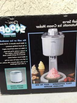 Deni Scoop Factory Soft Serve Ice Cream Maker New