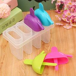 Silicone Ice Cream Maker Mould Mold Frozen Jelly Lolly Pop P