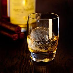 Whiskey Rounders Sphere Ice Mold - Ice Ball Maker Tray Makes