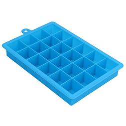 Culturemart 1Pc Square Shape Ice Cube Tray 24 Grid Silicone