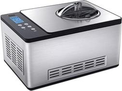 stainless steel 2 1 quart fully automatic