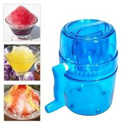 Stainless steel Ice Crusher Shaved Ice Machine Manual Portab
