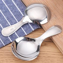 ShoppyStar 2pcs Stainless Steel Kitchen Spoons Spice Condime